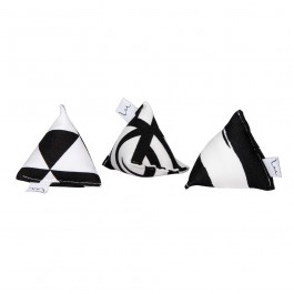 Minoumi Mini Pyramide Set Black & White