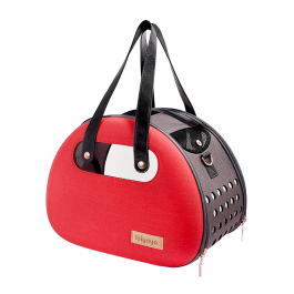 The Bubble Hotel Semi-transparent Pet Carrier – Scarlet Red